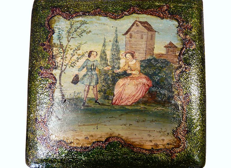 Coffret à odeur XVIIIème siècle