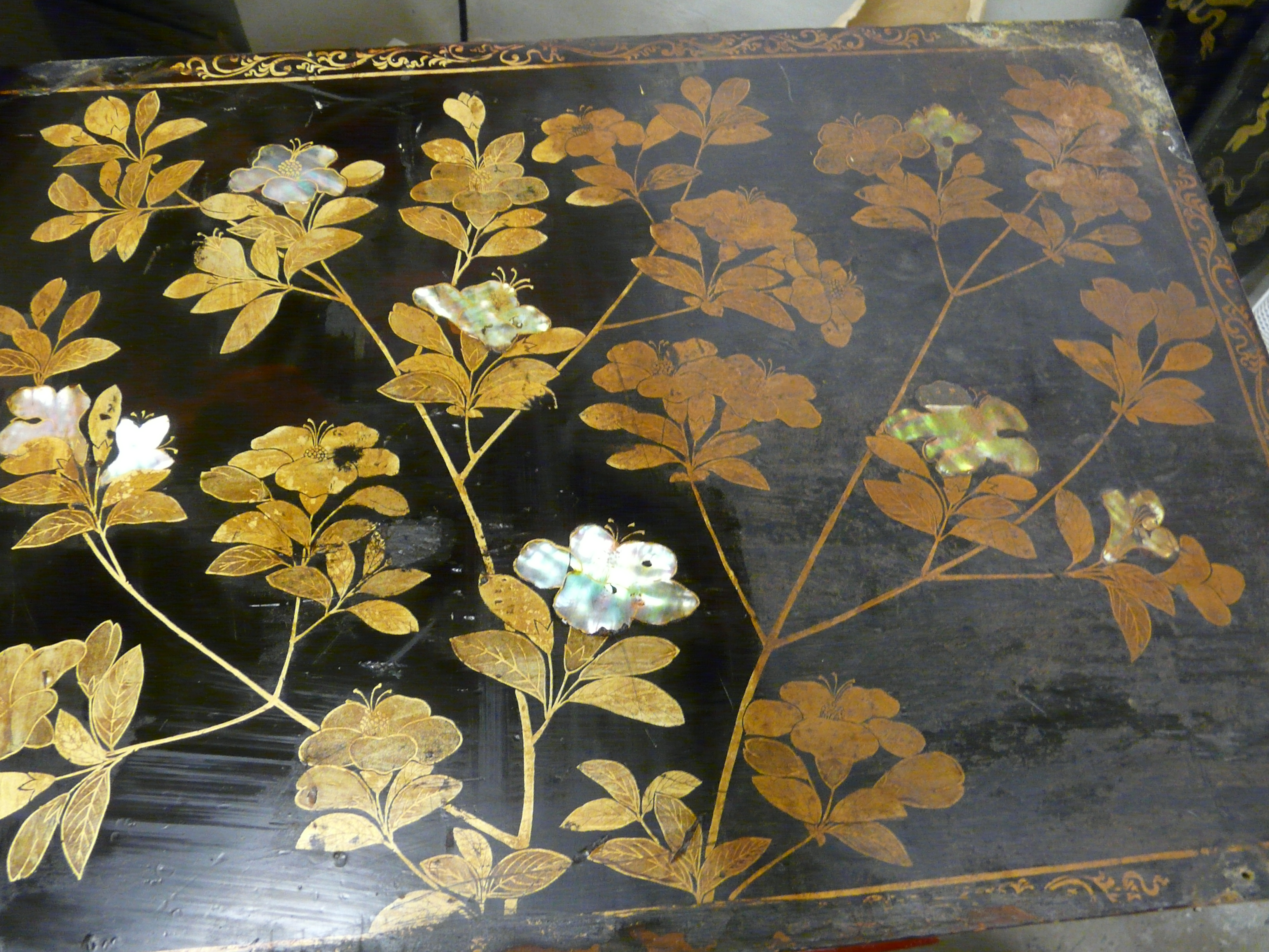 Cabinet japonais dit namban